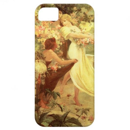 Alphonse Mucha Spirit of Spring iPhone 5 Case