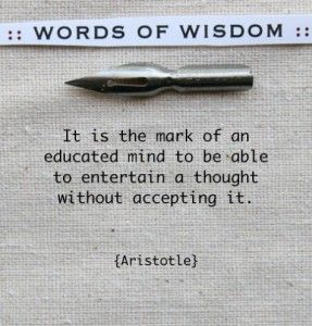 Aristotle quote - Macedonia the ancient kingdom of Greece