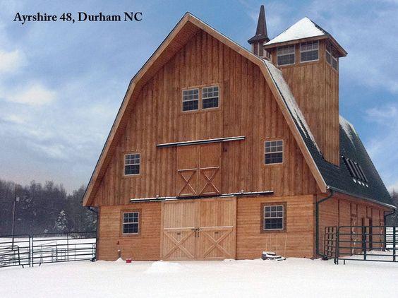 North carolina barn pros barn gambrel style beautiful for Gambrel style barns