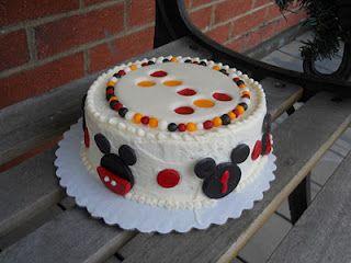 Mickey Smash Cake