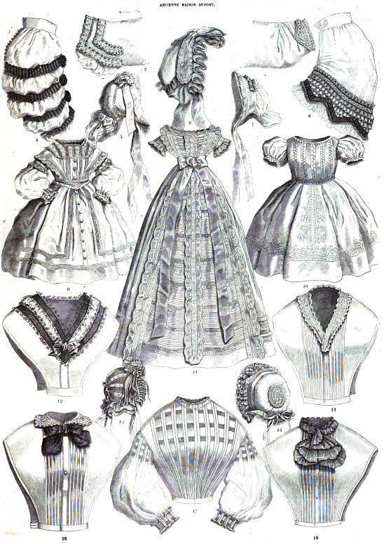 La Mode Illustree July 1862