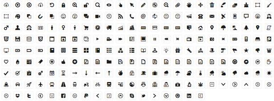 #nimonimo #iconossociales 210 iconos gratis para diseño web & wireframes