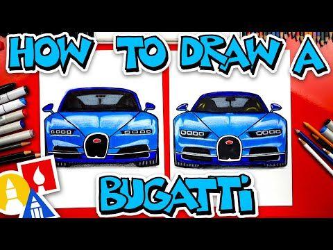 How To Draw A Bugatti Chiron Front View Youtube Bugatti Chiron Bugatti Art For Kids Hub