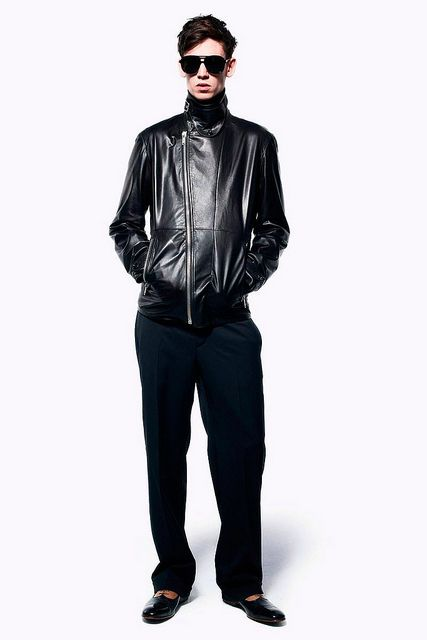 Hombres Chic » Fashion Trend Report | #6 Leather for Spring Summer 2013