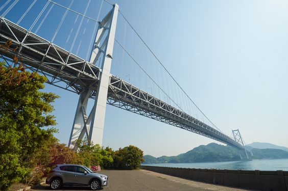 https://flic.kr/p/sp5tRd | driving at Hiroshima | Shimanami Kaido, Innoshima Bridge しまなみ海道・因島大橋 I've back from short trip. This channel is Setonaikai that separate Honsyu and Shikoku islands. I visited Hiroshima, Yamaguchi etc. this holidays with my car CX-5 (2.2D). Fuel efficiency is over 18km/L (include highway), and it's possible to run more than 900km once of refueling. In addition, Hiroshima is home place of Mazda. 今回は定番スポットばかりを点々としましたが、 山口、広島周辺を旅してきました。 写真は現在整理中です。また、順次アップしてゆきます。…
