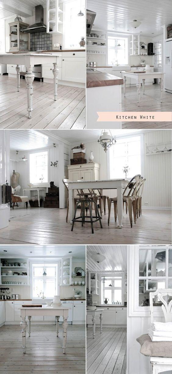 Shabby Chic Interiors: Stile nordico vs Stile industriale