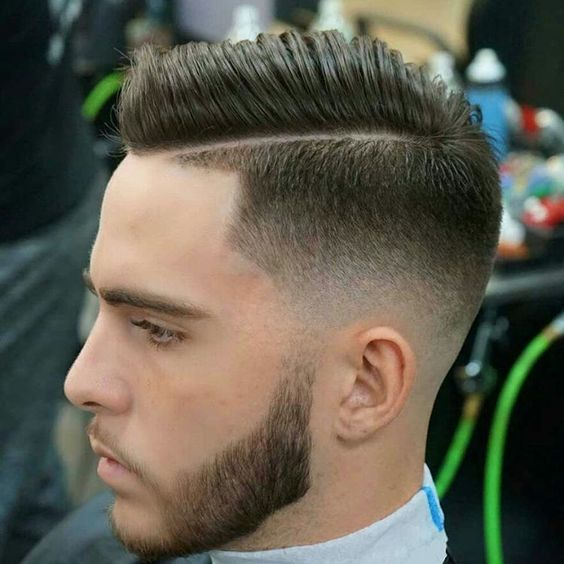Combover styled with NO PRODUCT #bestbarbersperiod #nicestbarbers…