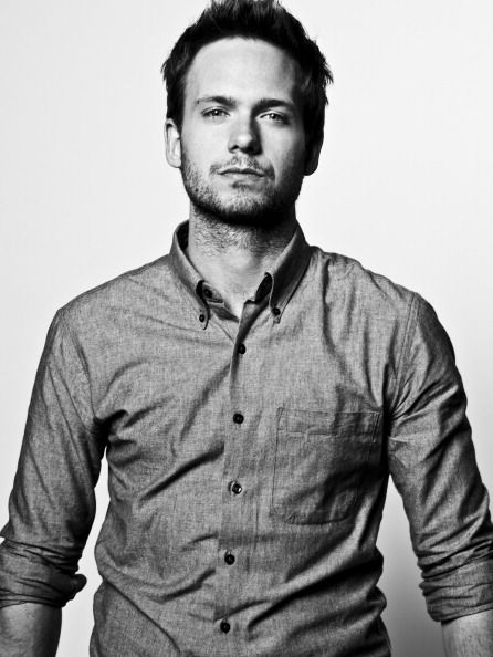 patrick j adams - as Mike in Suits.  Love him. Period.