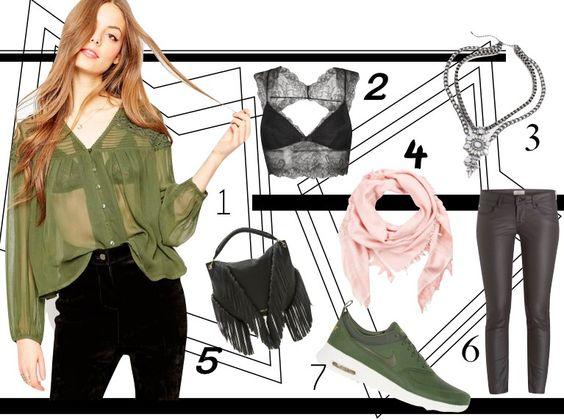 Khaki // Fashion // Blogger