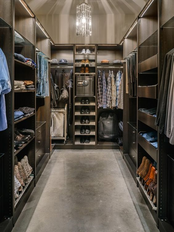 closet masculino: