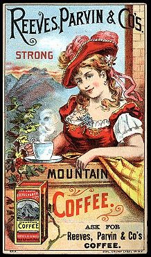 ☮ Coffee or Tea? Vintage art and quotes ☮