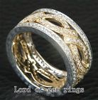 Unique and beautiful Jewish Wedding Rings: 14k Gold Two Tone Ani L'dodi Spinning Ring