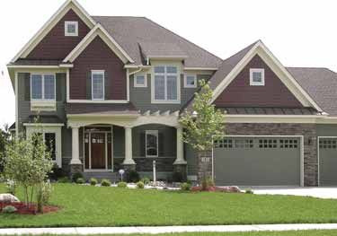 Home Plans HOMEPW04472 - 2,697 Square Feet, 4 Bedroom 2 Bathroom Craftsman Home with 3 Garage Bays