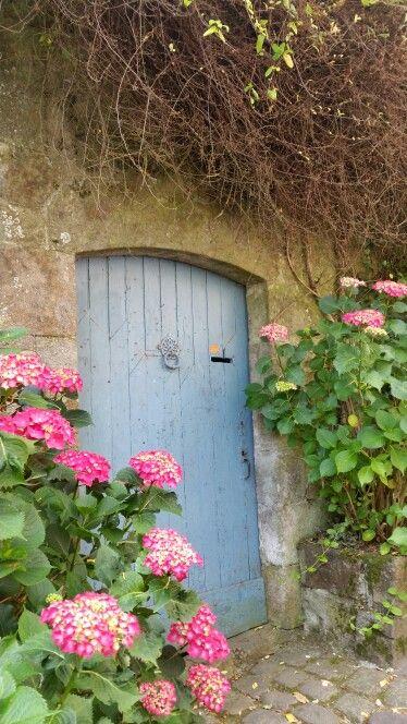 Dinan, France. A fairytale like village.