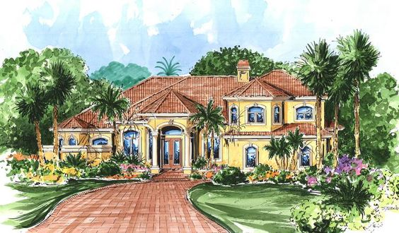 Houseplan+575-00039 Would see about making all closets walk-in