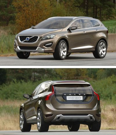 Volvo XC60. So tempted to purchase this color, as my mom purchased a brown '84 240 turbo when I was a toddler.