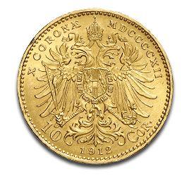 10 Kronen, Austria, 3.05g, Gold