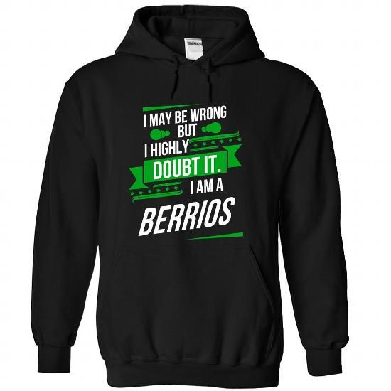 BERRIOS-the-awesome - #disney shirt #fashion tee. LIMITED TIME PRICE => https://www.sunfrog.com/LifeStyle/BERRIOS-the-awesome-Black-75202583-Hoodie.html?id=60505