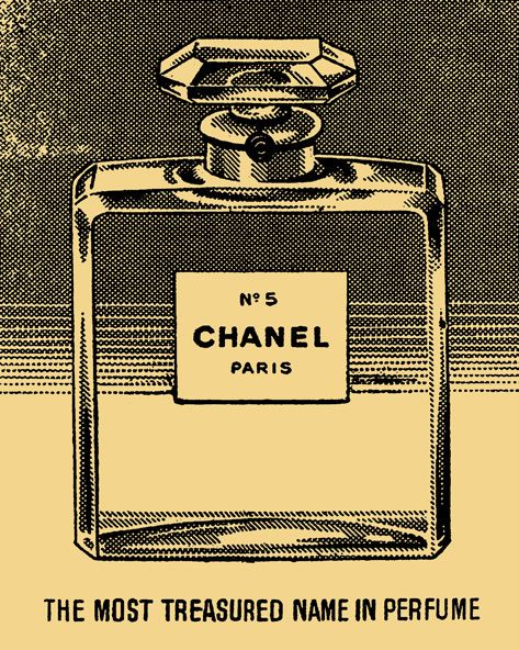Chanel Vintage advert