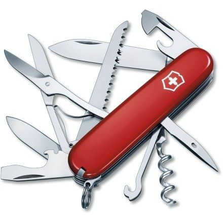 Victorinox Huntsman Swiss Army Knife - For every fisherman, handy man and generally saw down a branch dad out there.