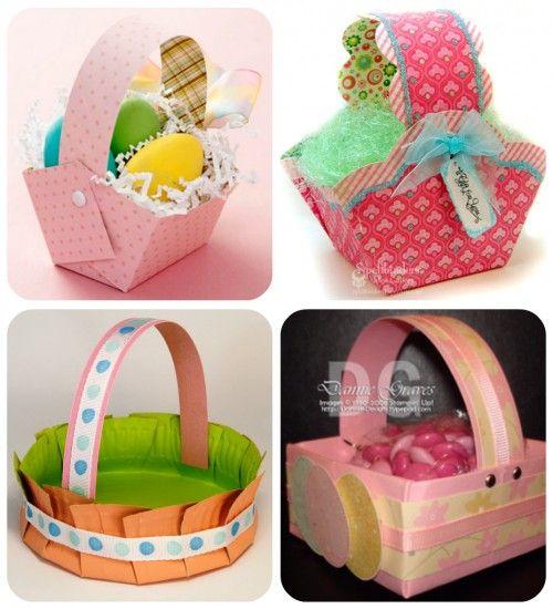 Ruffled easter baskets easter baskets easter and aunt peaches negle Images