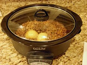 Aunt Peg's Recipe Box: Crockpot Refried Beans