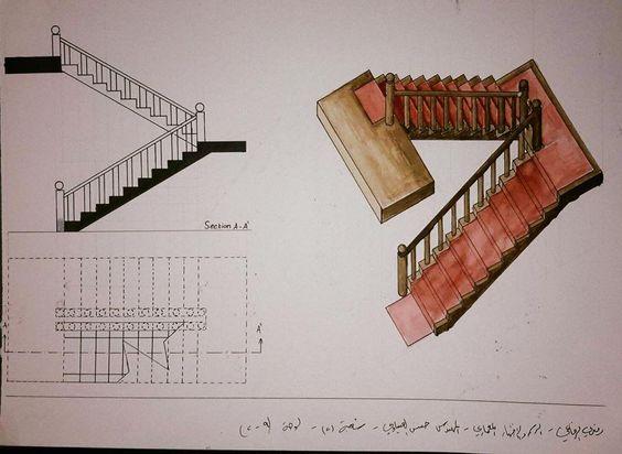 Ramzi Alrefaeeالرسم والاظهار المعماري: