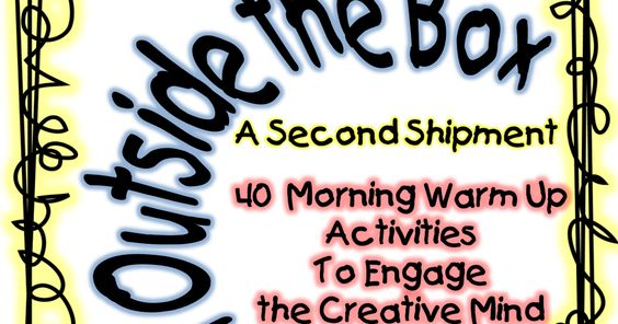think outside the box a second shipment.pdf