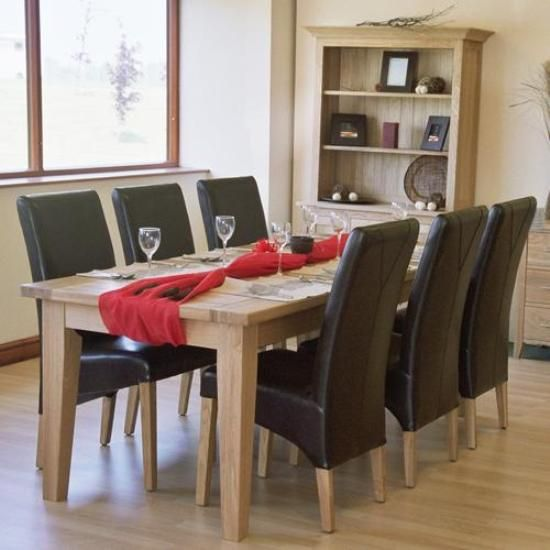 Leather Dining Room Chairs A Touch Of Class And Elegance In Endearing Leather Dining Room Sets 2018