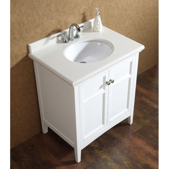 OVE Decors Campo 30-inch Single Sink Bathroom Vanity with Granite