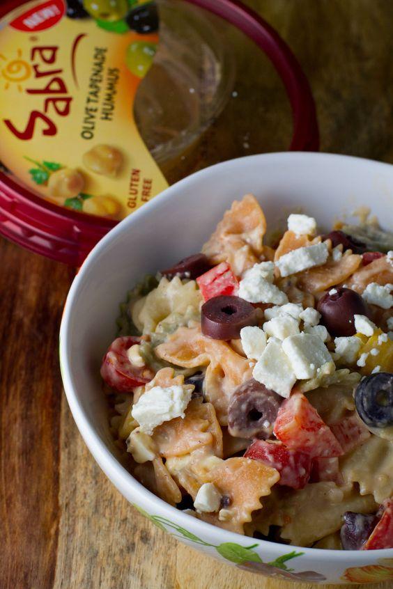 Tapenade pasta salad recipe