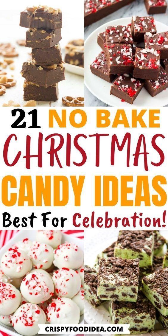 no bake christmas candies