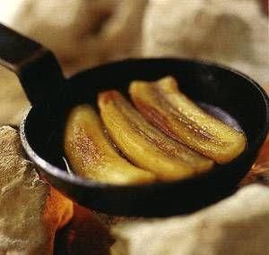 plátanos azucarados con lechera condensada... mmmmmm good!!