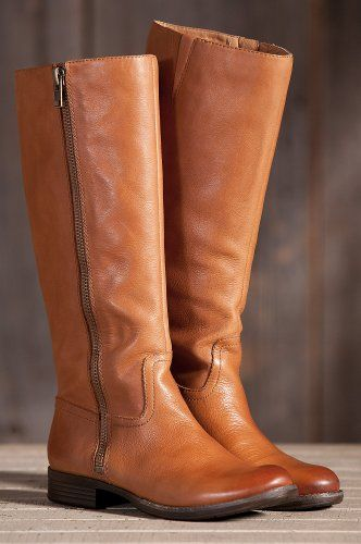 Women's Naya Abira Tall-Shaft Leather Riding Boots, SPICED GIRL ...