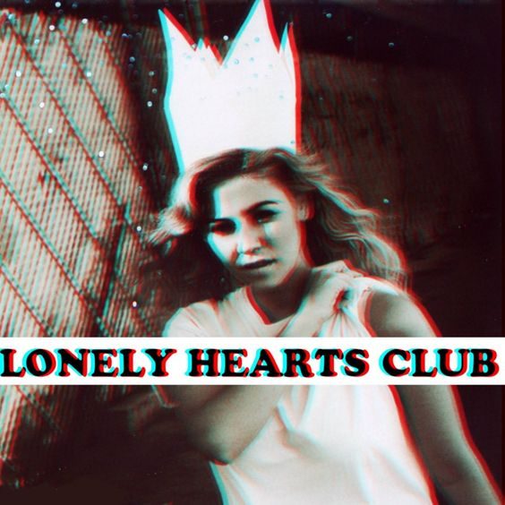 Marina and the Diamonds – Lonely Hearts Club (single cover art)