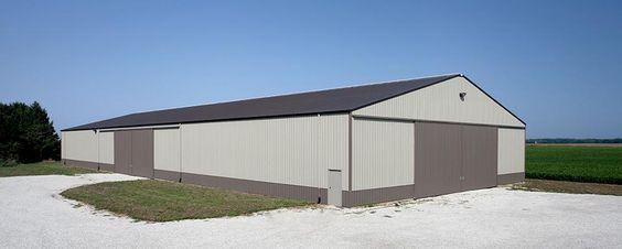 Farm Building Profile Use Machine Shed For Farm Equipment