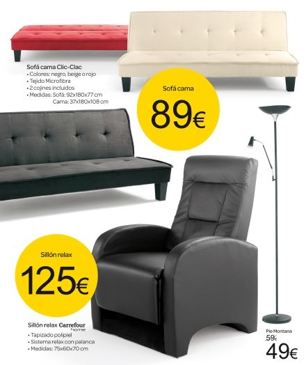 Pinterest the world s catalog of ideas for Sofa cama carrefour