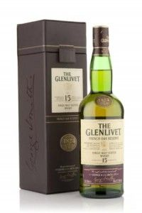 The trademark fruity creaminess of Glenlivet is joined by nutty and caramel notes imparted by the French Oak casks. Very sippable