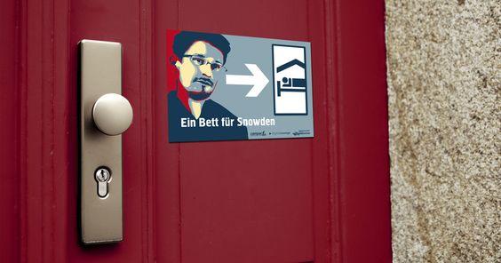 Bei mir ist Edward Snowden willkommen