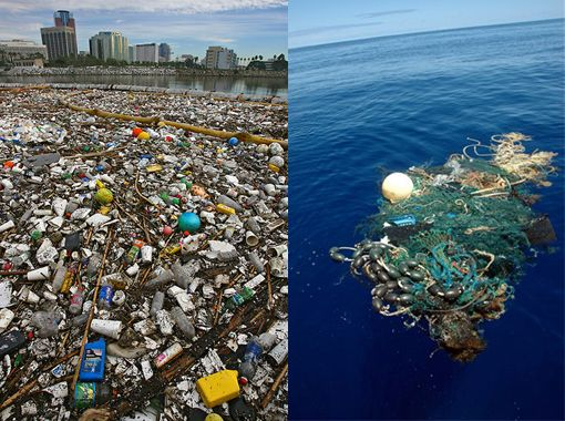 sea pollution and the great pacific Great pacific garbage patch, a zone in the pacific ocean between hawaii   greater than expected and that the plastics absorbed pollutants,.