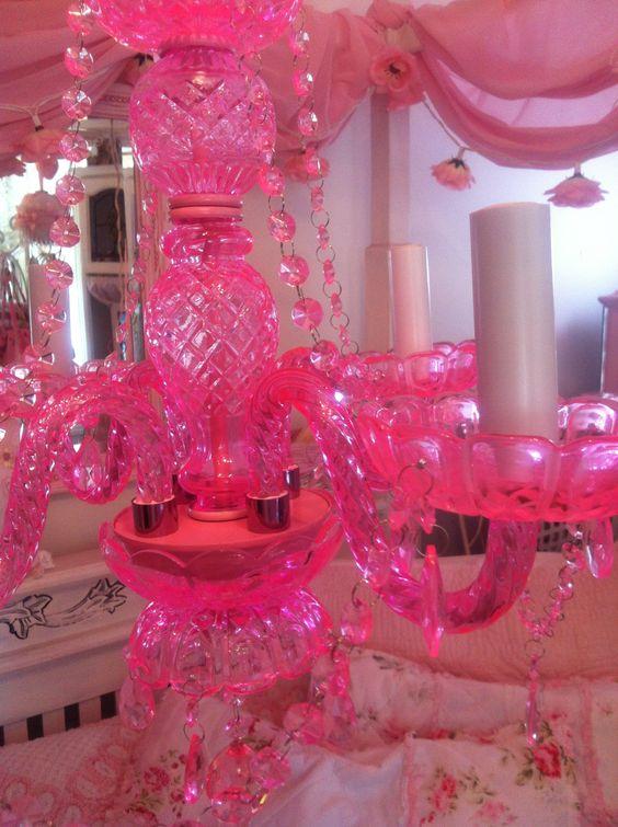 Pink Glass Chandelier ChandeliersCandelabra – Pink Glass Chandelier