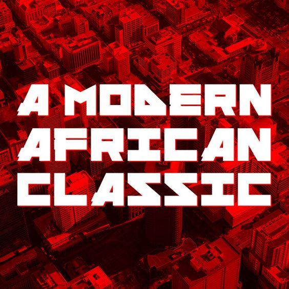 Afrographique Typeface by Ivan Colic, via Behance