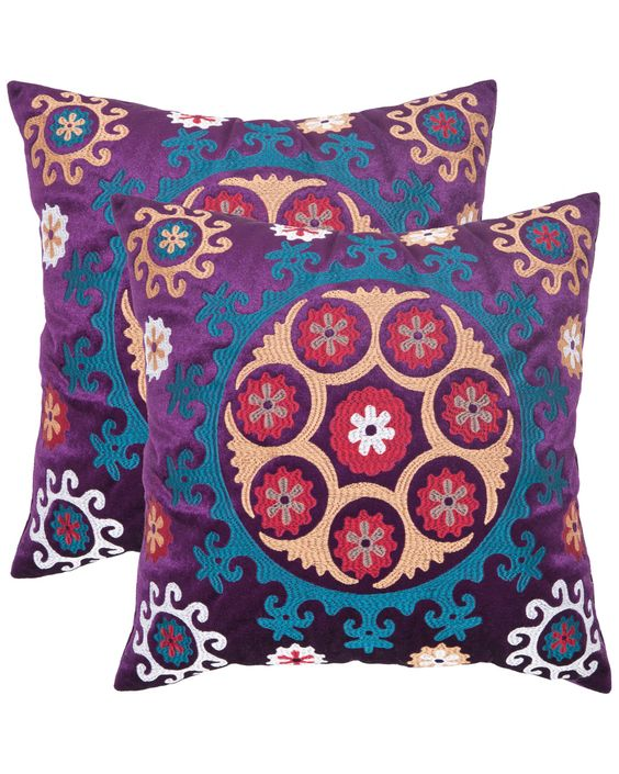"Spotted this ""Vanessa"" Set of 2 Decorative Pillows on Rue La La. Shop (quickly!)."