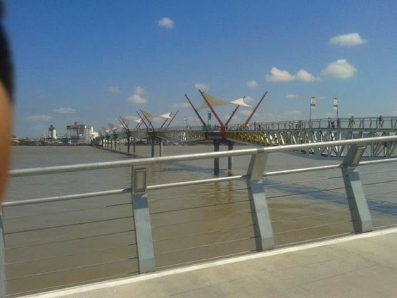 puente isla Santay Guayaquil