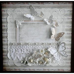 shabby chic scrapbooking layouts - Google Search