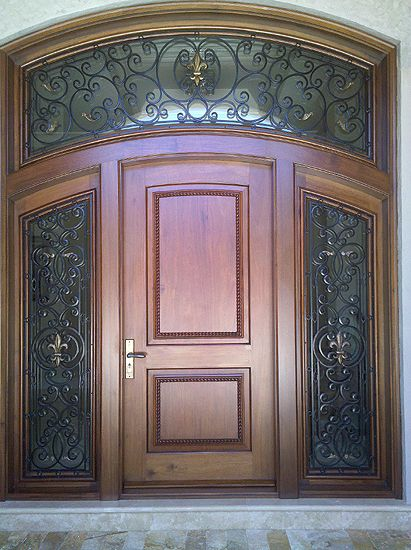 borano mahogany front door with sidelights the next house