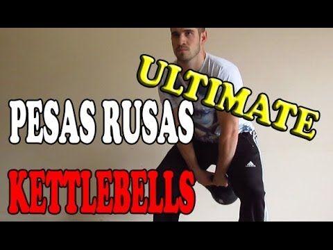 Ejercicios con Pesas rusas o Kettlebells para ganar masa muscular   Ruti...