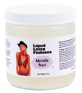 Ammonia Free Liquid Latex Body Paint - 32oz Metallic Pearl by Liquid Latex Fashions. $27.99. Easy Application & Easy Removal. Liquid Latex Body Paint will not rub off onto your clothing or furniture like other body paints. Will not stain the skin. The only Liquid Latex that is Ammonia Free!. Liquid Latex Fashions manufactures liquid latex body paint in a variety of colors, these body paints are made with the highest quality of FDA approved ingredients. Because our...