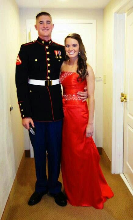 Fashion week Corps marine ball what not to wear for woman