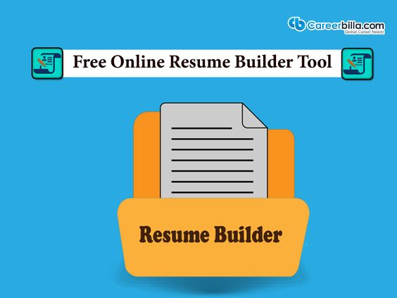 Free Online Resume Builder Tool The leading job search and career - free online resume builder